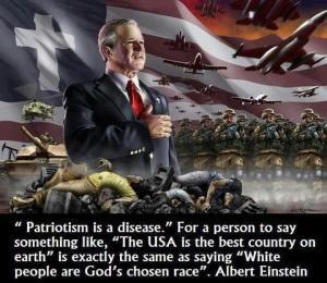 Patriotism is a disease