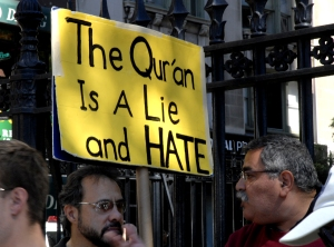 The Quran is a lie and hate