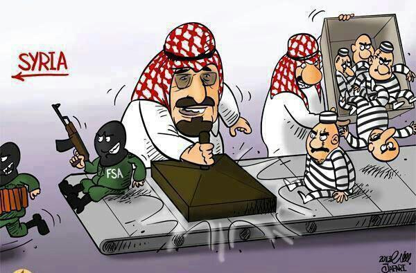 Saud's create jihadis for syria