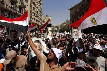 demonstratie pro-Morsi