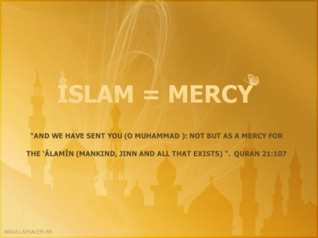 islam is mercy