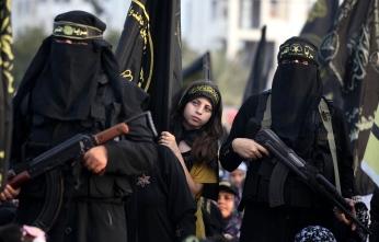 Jihad women with niqab