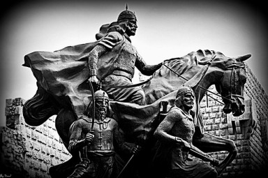 saladin sculpture