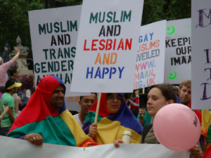 Muslim and Lesbian and happy