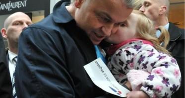 Wilders met een kind